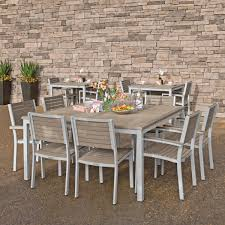 outdoor square dining table madrone collection