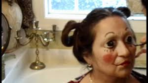raggedy ann halloween makeup raggedy ann makeup transformation youtube