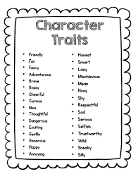 sarah u0027s first grade snippets teaching character analysis in the