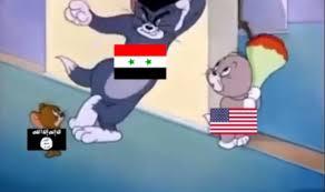 syrian problem explained tom jerry cartoon india