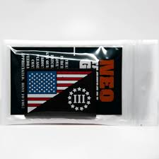 State Flag Velcro Patches Us Flag And Three Percenter Pvc Morale Patch Neo Tactical Gear