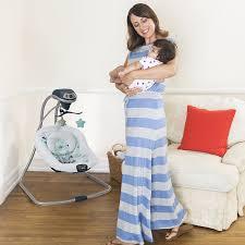 Amazon Baby Swing Chair Amazon Com Graco Simple Sway Baby Swing Stratus Baby