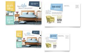 home design furnishings home furnishings postcard template design