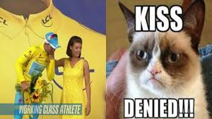 Denied Meme - nibali kiss denied working class athlete