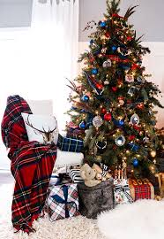 plaid christmas plaid christmas decor ideas for the holidays house of hawthornes