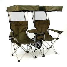 Portable Armchair Chair For Two With Individual Canopies