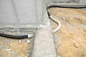 gravel stone and tips when building a french drain