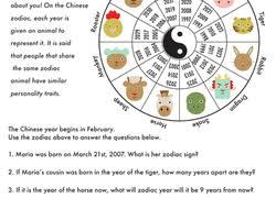 1st grade chinese new year worksheets u0026 free printables