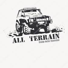 jeep cartoon offroad off road stock vectors royalty free off road illustrations
