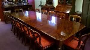 Dining Table 12 Seater Impressive 12 Seater Mahogany Dining Table 19th C Antiques Atlas