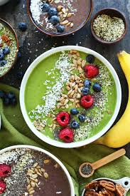 super green smoothie bowl minimalist baker recipes