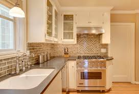 Mirrored Backsplash In Kitchen About Kitchens Beaver Tile And Stone
