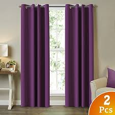 Lavender Blackout Curtains Lavender Thermal Blackout Curtains Amazon Com