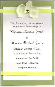 wedding invitation sle wording simple wedding invitation wording from and groom lake side