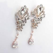 Chandelier Earrings Bridal Best Gold And Pearl Chandelier Earrings Products On Wanelo