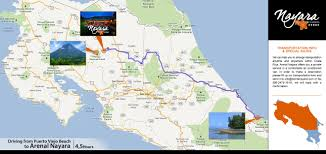 Costa Rica Airports Map Arenal Volcano National Park Arenal Hotels Costa Rica