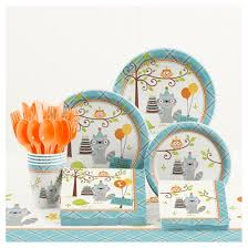 birthday party supplies happi woodland boy 1st birthday party supplies kit target