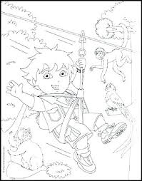 coloring pages diego rivera go diego go coloring pages cliptext co