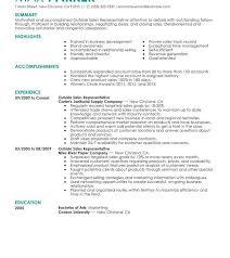 resume template entry level sales representative medical device salese resume sle sles pdf outside exles