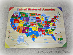 Usa Puzzle Map by Amazoncom Melissa Doug Usa Map Sound Puzzle Wooden Puzzle
