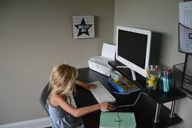 how to setup a homework station my big fat happy life