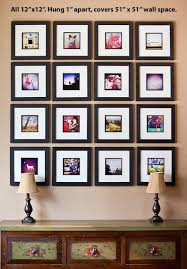 measurements for popular wall collages of canvas prints