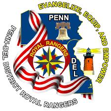 Deleware Flag Royal Rangers Delaware