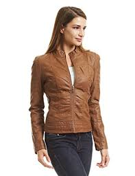 light brown leather jacket womens come together california ctc womens dressy vegan leather biker