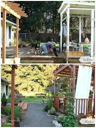 Diy Small Backyard Makeover Diy Backyard Makeover Before And After Hometalk
