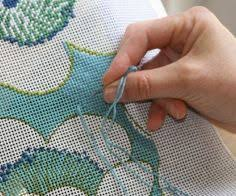 how to needlepoint for beginners basic stitches vintage crafts