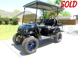 Pds Upholstery 2013 Ezgo Pds Txt Custom Lifted 4 Seater Golf Cart From Ckds Golf