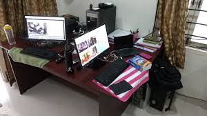 Office Desk Workstation by What Does Your Office Desk Workstation Look Like Page 2 Team Bhp