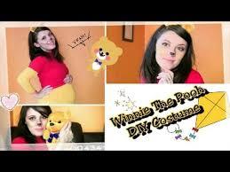 diy winnie the pooh halloween costume u0026 makeup tutorial adorable