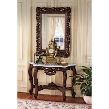 console table and mirror set design toscano royal baroque console table and mirror set reviews