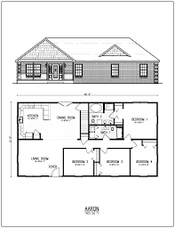 43 small ranch floor plans nice house 4 for alluring rancher