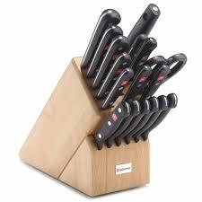 wusthof gourmet 18 piece promo knife block set 9718 j l hufford