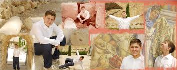 bar mitzvah in israel a collage of photographs of a bar mitzvah artistic photography