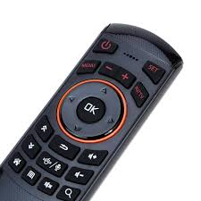 android keyboard with microphone 2 4g gyroscope mini fly air mouse wireless keyboard remote