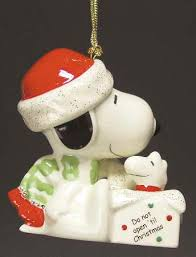 lenox whimsical snoopy ornaments at replacements ltd