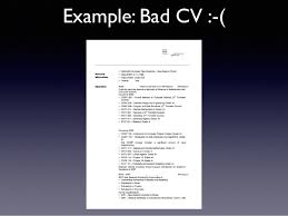 Bad Examples Of Resumes by Summer Of Tech Resume 2014