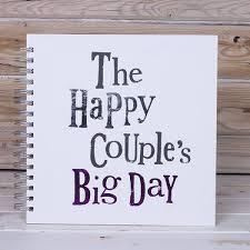 Couple Photo Album The Bright Side The Happy Couple U0027s Big Day Wedding Album
