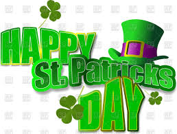 inscription happy st patrick u0027s day and green top hat with buckle