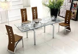 glass dining room table set emejing glass dining room furniture sets images home design