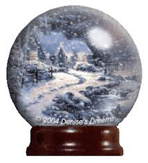 animated snow globes animated kinkade globe a snow water