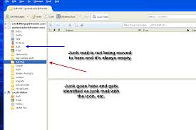 yahoo email junk mail junk mail not moving to junk folder thunderbird support forum