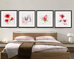 How To Furnish Bedroom Bedroom Wall Art Etsy