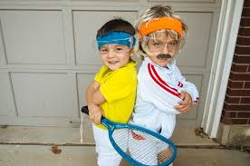 diy kids halloween costumes pinterest how to have a tennis themed halloween the mytennislessons blog