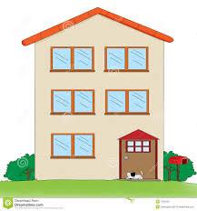 Three Story House Multi Storey House Stock Photos Image 7302423