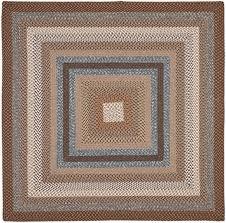Classic Accessories Veranda Round Square - reversible area rugs braided collection safavieh