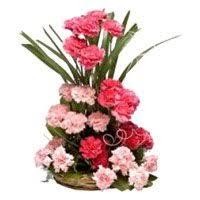 cheap flower delivery 20 flowers to kolkata flowers to kolkata basket delivery